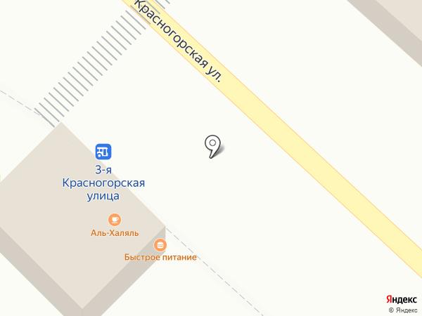 Шашлычная №1 на карте Люберец