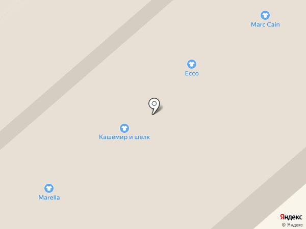 Outlet Village Белая Дача на карте Котельников