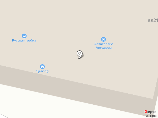 Вивавто на карте Пушкино
