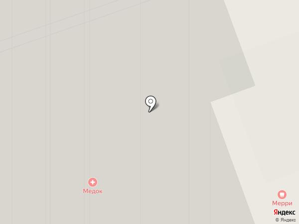 Мерри на карте Реутова