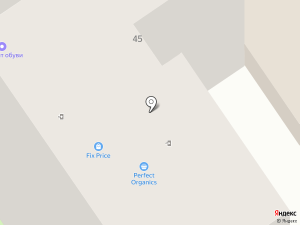Матис на карте Старого Оскола