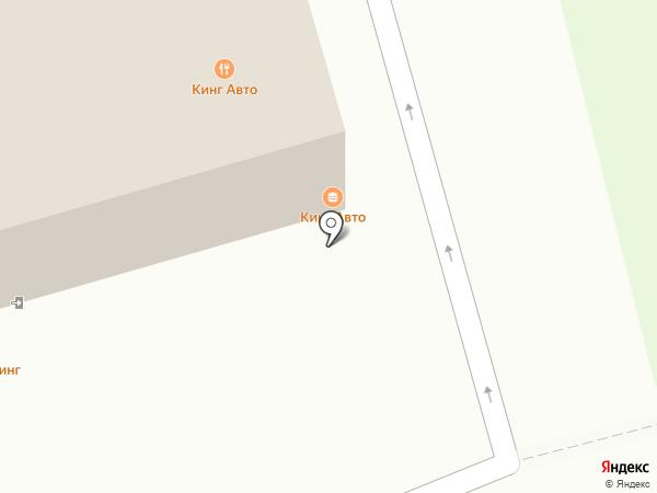 Магазин автозапчастей на карте Балашихи