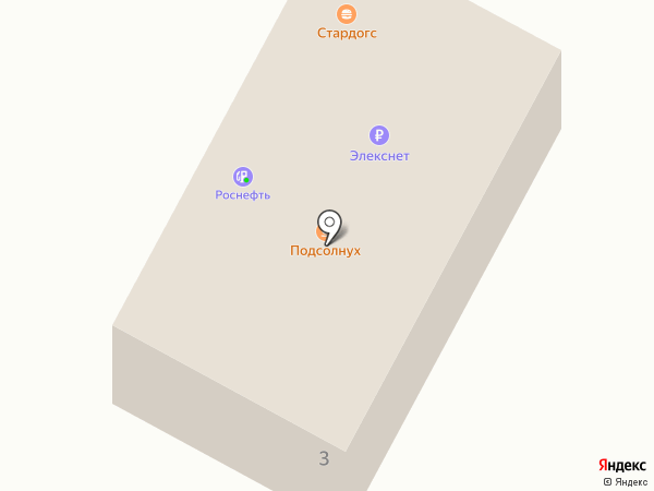 АЗС Роснефть на карте Ивантеевки