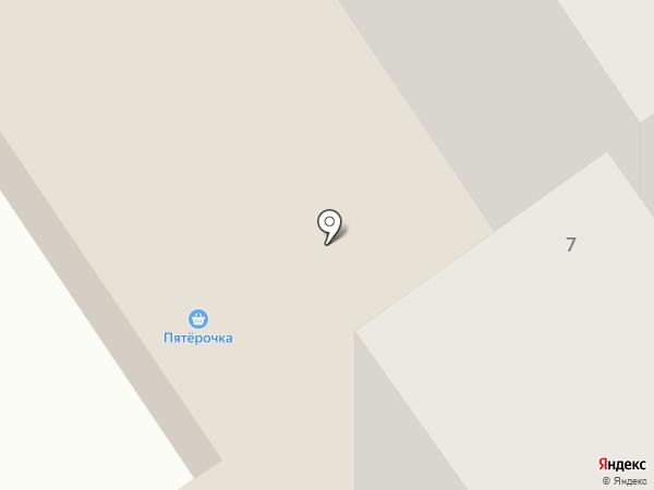 Пятерочка на карте Старого Оскола