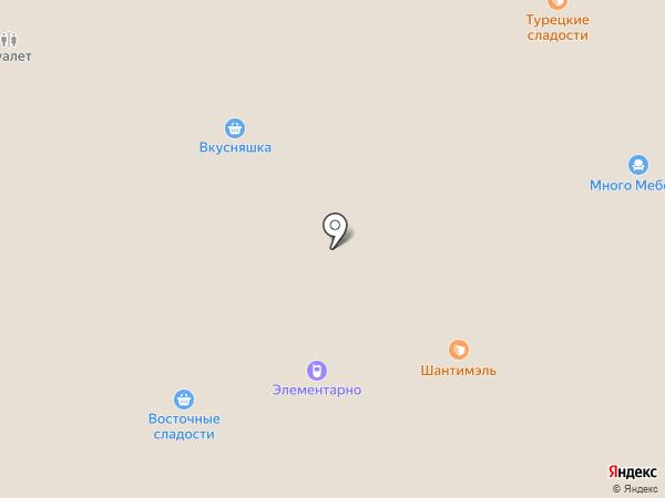 Шантимэль на карте Москвы