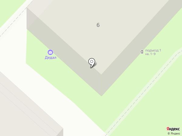 Дедал-Сервис на карте Люберец