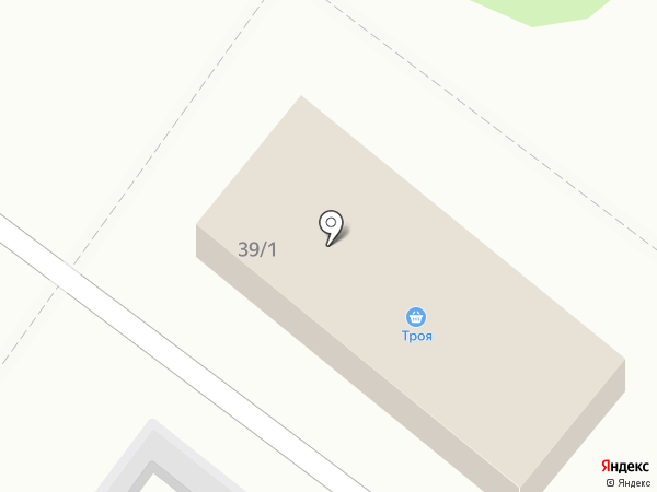 Троя на карте Макеевки
