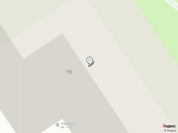 Строительный центр, ЗАО на карте Старого Оскола