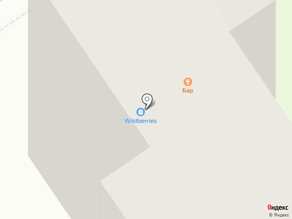 Кружка на карте Старого Оскола
