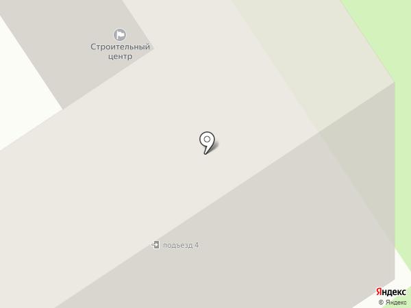 Строительный центр на карте Старого Оскола