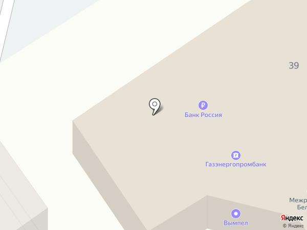 Вымпел на карте Старого Оскола