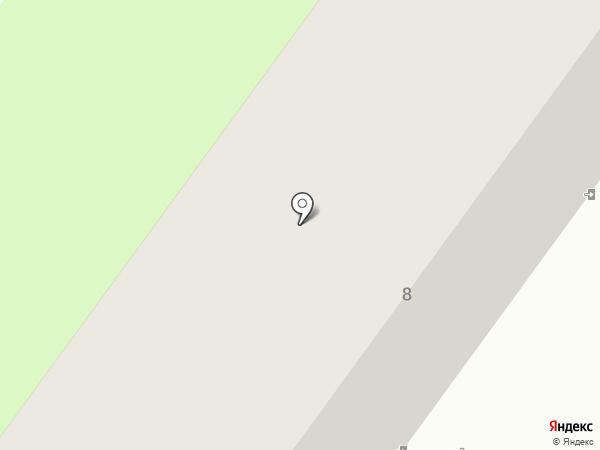 Продовольственный магазин на Ботанической на карте Макеевки