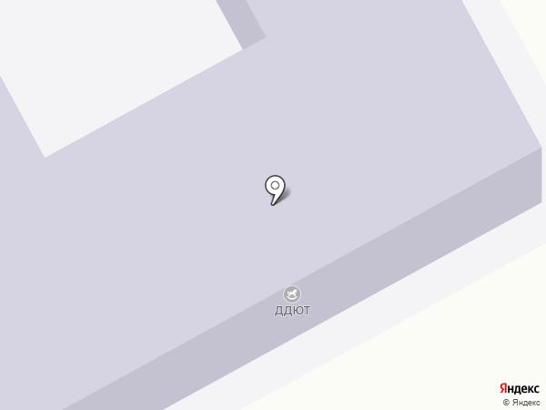 ДДЮТ, Дом детского и юношеского творчества на карте Ясиноватой