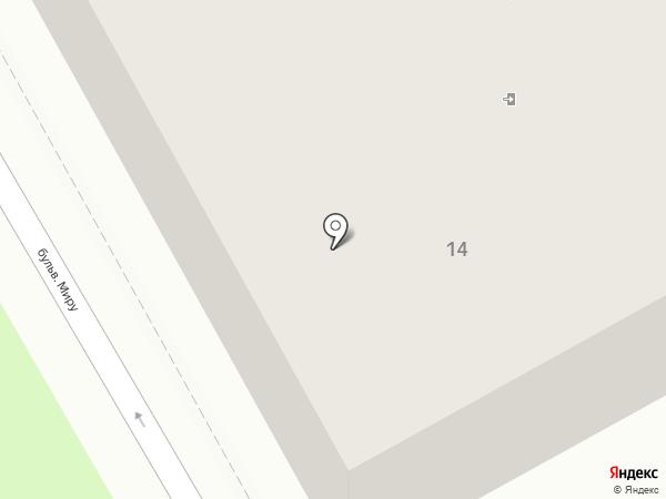 Гранд на карте Ясиноватой