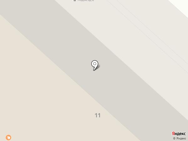Стриж на карте Макеевки