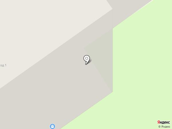 Элиж на карте Старого Оскола