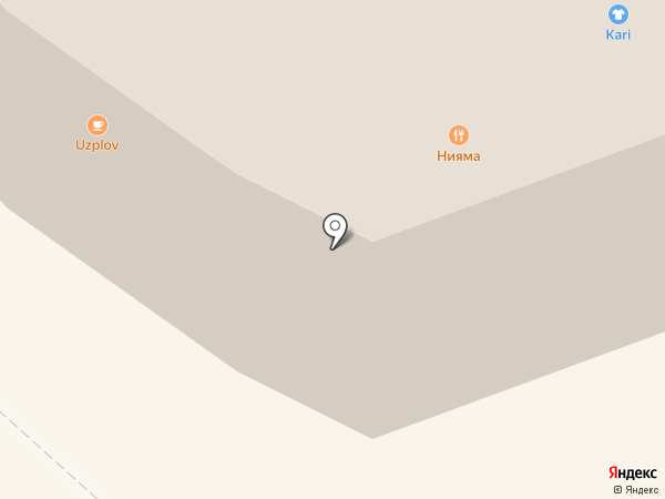 O`stin на карте Реутова