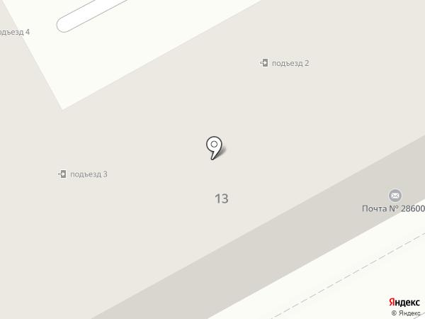 Отделение связи №1 на карте Ясиноватой