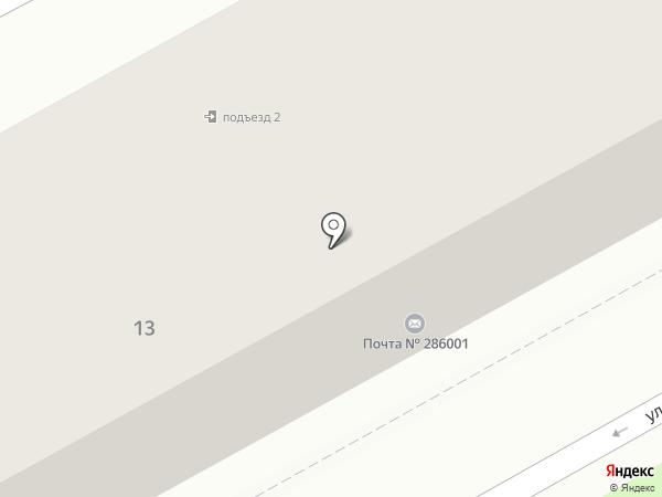Толстопуз на карте Ясиноватой