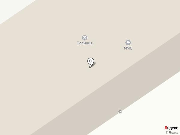 Пожарная часть №6 на карте Старого Оскола