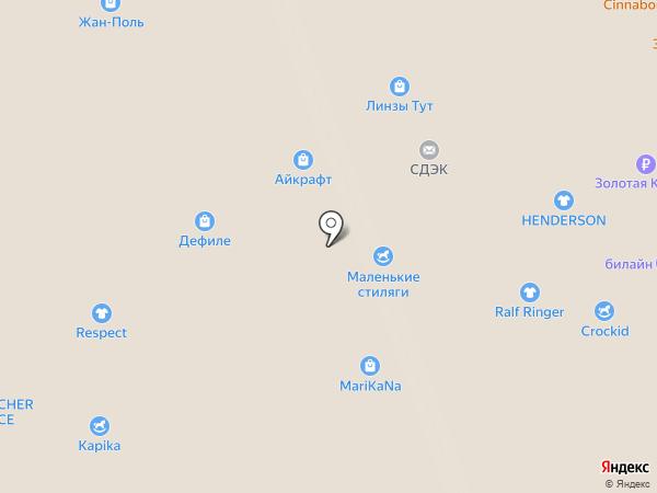 Accent на карте Реутова