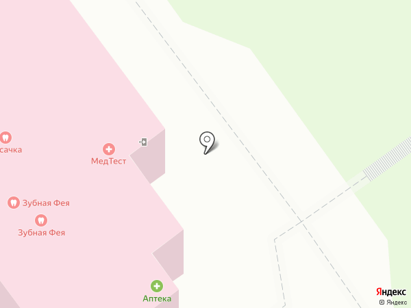 МЕДТЕСТ на карте Старого Оскола