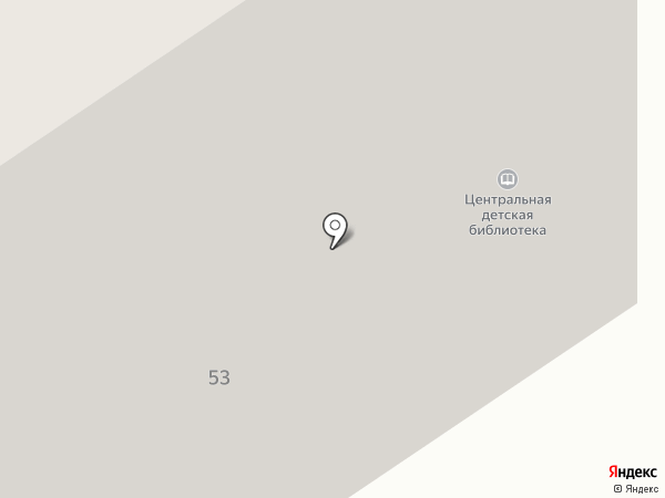 Центральная детская библиотека №7 на карте Старого Оскола