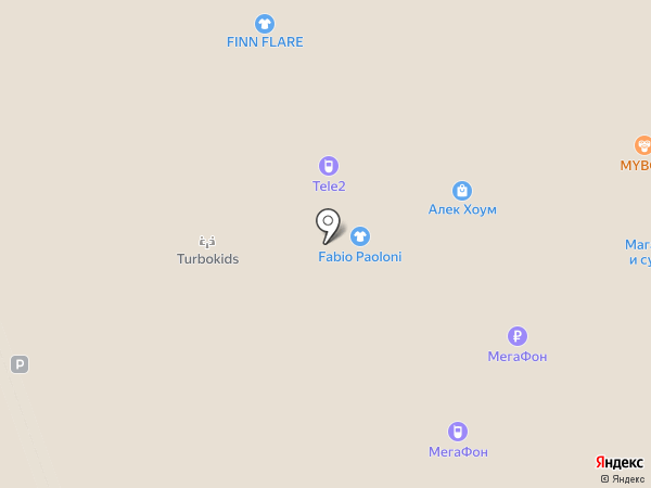 Красно золото на карте Реутова