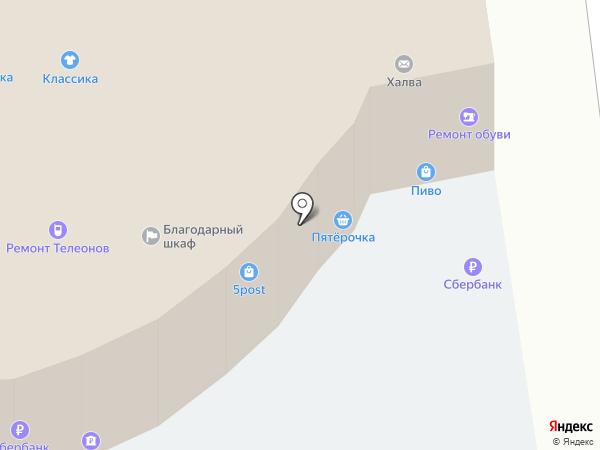 Аист на карте Москвы