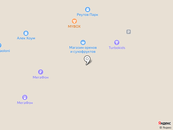 Чистая Линия на карте Реутова