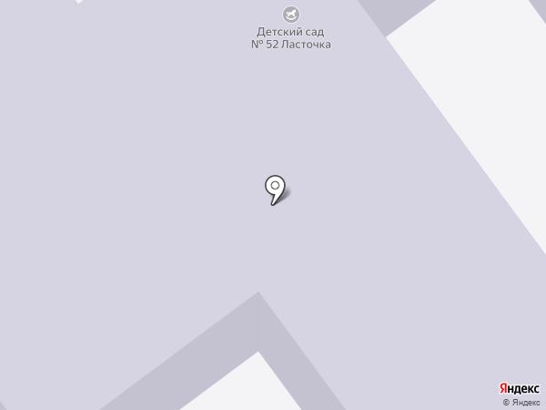 Детский сад №52, Ласточка на карте Старого Оскола