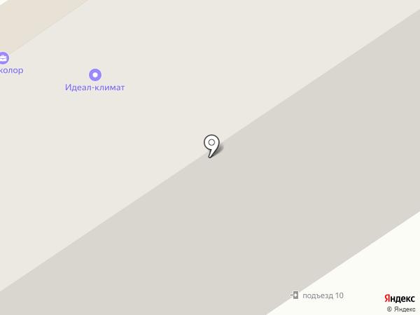 Шармут на карте Старого Оскола