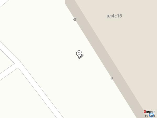Палисандр на карте Балашихи