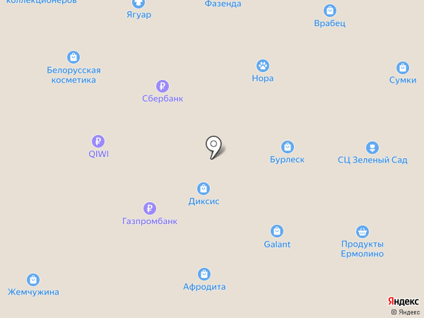 Леди Шик на карте Старого Оскола