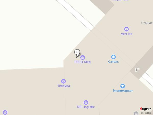 ГарантА Груп на карте Люберец
