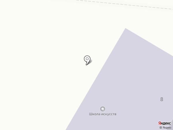 Ясиноватская школа искусств на карте Ясиноватой