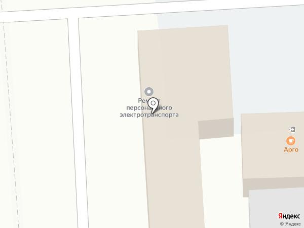 Арго на карте Люберец
