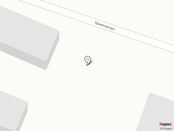Автостоянка на карте Ясиноватой