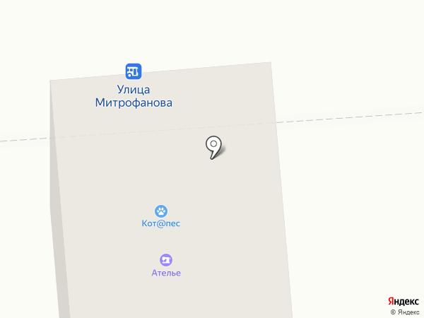 Ателье по ремонту одежды и обуви на карте Люберец