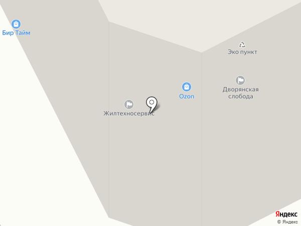 На Наташинских прудах на карте Люберец