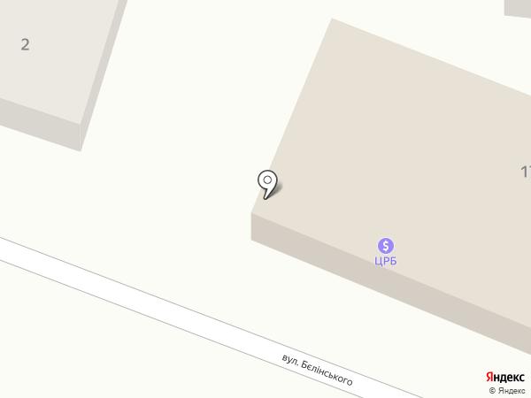 Мастерская по ремонту обуви на карте Ясиноватой