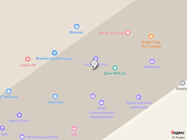 ОсколЗаборСтрой на карте Старого Оскола