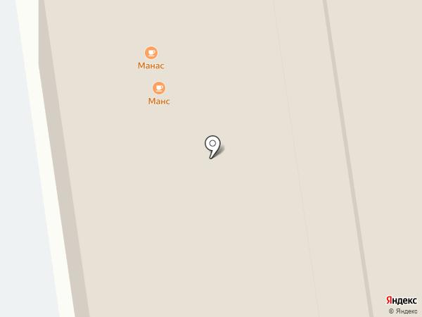 Красные Ворота на карте Балашихи
