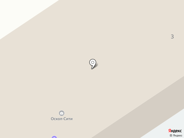 Центр доктора Бубновского на карте Старого Оскола