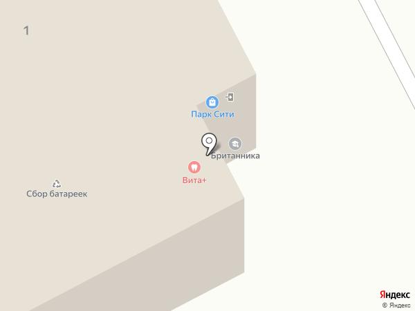 Золотой теленок на карте Люберец
