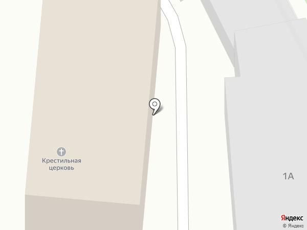 Крестильный храм Новомучеников и Исповедников Российских на карте Люберец