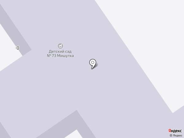 Детский сад №72 на карте Старого Оскола