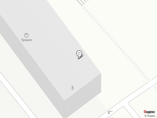 Трэкол на карте Люберец
