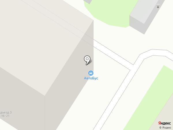 АвтоБус на карте Люберец