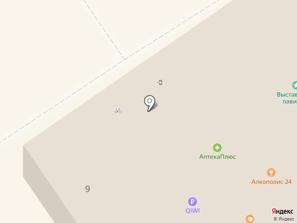 Фазенда на карте Старого Оскола